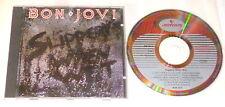 BON JOVI CD SLIPPERY WHEN WET CD ROTES MERCURY 1986 ROCK