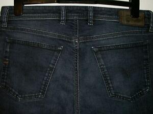 Diesel waykee regular-straight fit jeans wash 0842Q stretch W33 L32 (a5329)