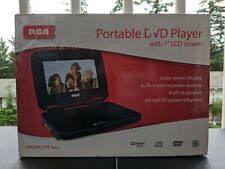 """New RCA Portable DVD Player with 7"""" LCD screen"""