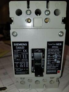 Siemens Neb3B020 20 Amp