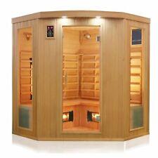 Infrarotkabine Infrarotsauna Wärmekabine Sauna Kabine 4 Personen Vollspektrum