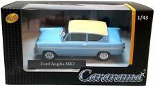 Oxford Diecast Ford Anglia Mk1 en Azul/Blanco 1:43 Escala Die-Cast Modelo -