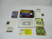 PRINCE OF PERSIA Super Nintendo SNES Authentic Box And Inserts NO GAME CART!