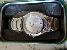 FOSSIL PR-5031 Stainless Steel Unisex Quartz Wrist Watch  - Nice! (5)