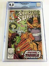 MARVEL COMICS Silver Surfer V3 #44 CGC GRADE 9.2 White Pages 12/90 Infinity G