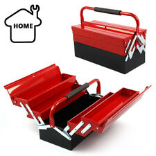 3 Tier 5 Tray Heavy Duty Professional Metal Storage Cantilever Tool Box Case UK