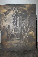 Artini Engraving Wall Art Decor Artist Charles Maurand Taken From Old Book
