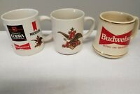 Anheuser-Busch Steins-Budweiser-Natural Light LOT OF 3 Mugs Stein