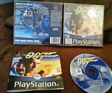 PS1 007 THE WORLD IS NOT ENOUGH SONY PLAYSTATION PSONE GAME COLLECTORS CONDITION