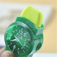 Stationery With Brush Cartoon Watches Design Pencil Sharpener Creative Eraser