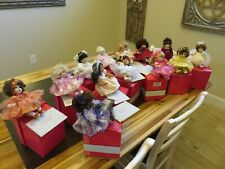 New ListingMarie Osmond Tiny Tots Rose Bud Complete Collection - 13 Dolls-Orig Box & papers