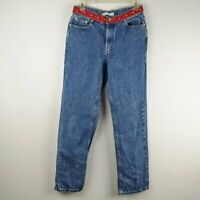 Tommy Hilfiger Women's Vintage 2001 Embroidered Logo Jeans Size 6