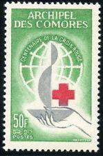 TIMBRE COLONIES FRANCAISES / COMORES N° 27 ** CENTENAIRE DE LA CROIX ROUGE