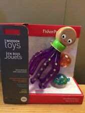Fisher-Price Wooden Toys Sea Party Octopus 18M +