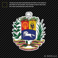 Venezuelan Coat of Arms Sticker Decal Self Adhesive Vinyl Venezuela flag VEN VE