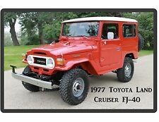 1977 Toyota Land Cruiser FJ-40 Hard Top  Refrigerator / Tool Box Magnet