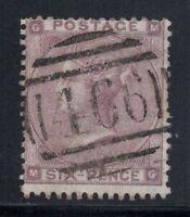 Großbritannien 1862 Mi. 20 I Gestempelt 40% 6 P, Königin, Victoria, G, M.