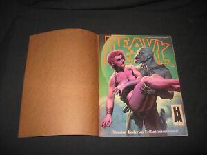 Heavy Metal 1984 Dec. in original kraft mailer