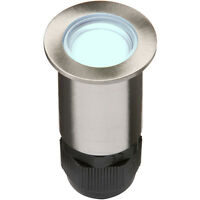 Knightsbridge IP67 LV 4x0.5W Blue LED Stainless Decking Light x1