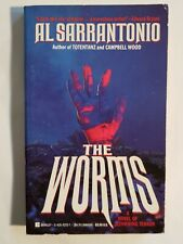 AL SARRANTONIO SIGNED 1ST - Worms (Paperbacks From Hell)