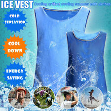 Reversible Summer Ice Cooling Vest for Outdoor Work High Temperature Protective