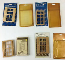 Dollhouse Window Lot Houseworks Classics By Handley