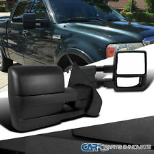 Ford 04-14 F150 Pickup Truck Telescoping Towing Side Mirrors Manual