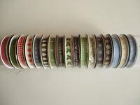 1 reel Dovecraft Christmas Grosgrain Ribbon - choice of design - 2m length x10mm