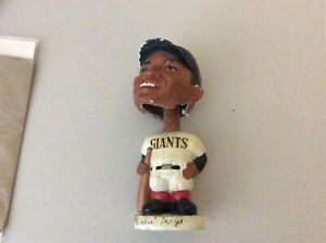Willie Mays bobblehead dark face white base 1960s San Francisco giant great