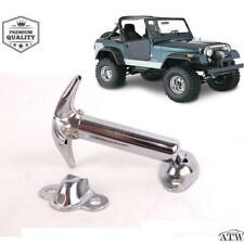 Stainless Steel Chrome Catch Hood Latch For 1955-1995 Jeep CJ CJ5 CJ7 CJ8 YJ
