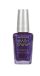 WET N WILD Nail Polish WILD SHINE Color/Enamel 417f eggplant forest