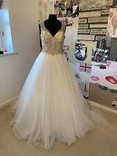 Eternity Bride Designer Wedding Dress Size 10/12