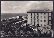 SAVONA PIETRA LIGURE 65 ALBERGO PENSIONE SORRISO Cartolina FOTOGRAF. viagg. 1955