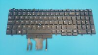 Keyboard UK Dell E5550 E5570 E5580 Präzision 15,17 7000 Serie 0FP37Y Backlit