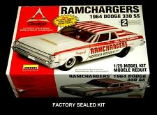 LINDBERG 1:25 scale RAMCHARGERS 1964 DODGE 330 SS #72161 Factory Sealed