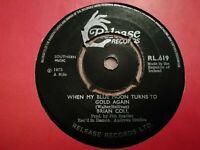 "BRIAN COLL * WHEN MY BLUE MOON TURNS TO GOLD AGAIN * 7"" IRISH FOLK SINGLE 1972"