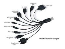 10 in 1 Portable Usb Universal Charger Cable for Ipod- Mp3 - Cell Phone