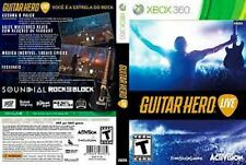 Guitar Hero Live USED SEALED (Microsoft Xbox 360, 2015) Game only Free Shipping