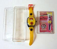 SHOGUN WARRIORS toy wrist watch Mazinga POPY TOEI GLJ holy grail Jumbo Machinder