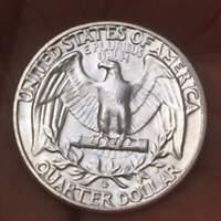 Uncirculated , 1958 D DENVER Washington Quarter **GEM BU**90% Silver LUSTER Coin