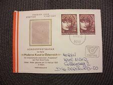 Österreich 1982/illustr.FDC Michel-Nr.1727(2x)+St.10.12.82 Graz/echt gelaufen