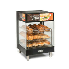 "Nemco 6424 Countertop Snack Merchandiser with Angled 15"" Square Shelves"