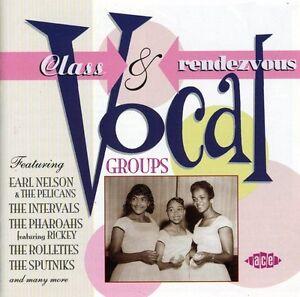 Various Artists - Class & Rendezvous Vocal Groups / Various [New CD] U