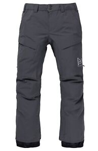 New Men's Burton [ak] GORE‑TEX Swash Pant Color: CASTLEROCK Size XS MSRP $389.95