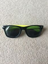 Boys One Size Black & Yellow Framed Unbranded Sunglasses