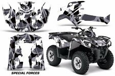 ATV Graphics Kit Decal Sticker Wrap For Can-Am Outlander-L 2014-2015 SPCL FRCE W