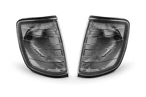 Mercedes Benz E Class W124 85-95 Smoked Front Indicators Set Pair Left Right