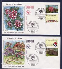 enveloppe 1er jour   du bloc 15  salon du timbre    Paris   1993