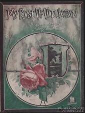 1919 Lt Joseph Kiefer and Billy James Sheet Music (My Rose of Old Japan)