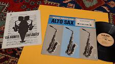 LEE KONITZ SAX DUETS LP + LIBRO 52 PAGINE TOP JAZZ ORIG CANADA EX+ !!!